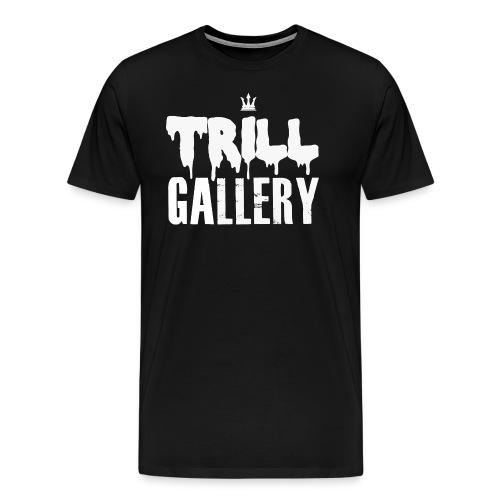 Trill Gallery Main Logo - Men's Premium T-Shirt