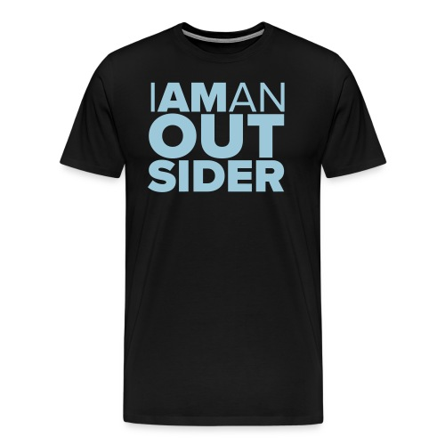 I Am An Outsider - Men's Premium T-Shirt