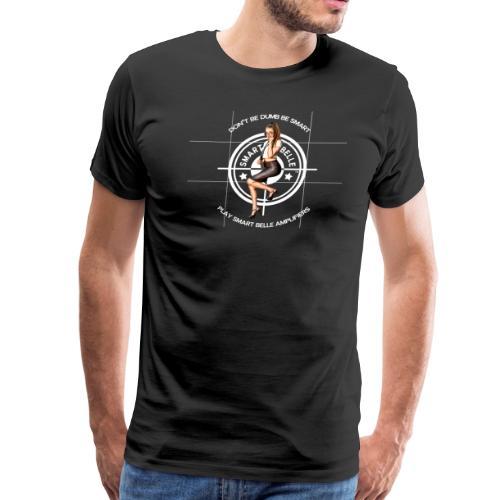 Smart Belle White Logo - Men's Premium T-Shirt