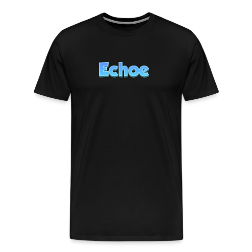 Echoe's Text Logo - Men's Premium T-Shirt