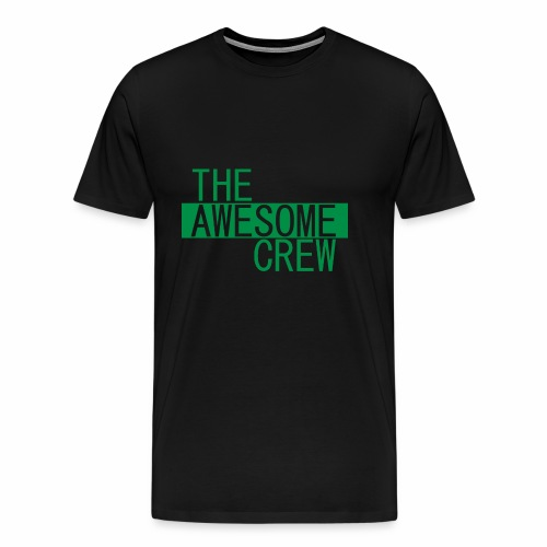 the awesome crew green - Men's Premium T-Shirt