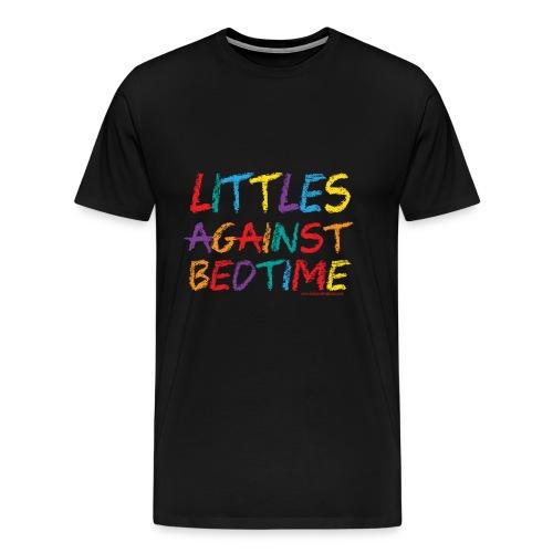 Littles_Against_Bedtime - Men's Premium T-Shirt