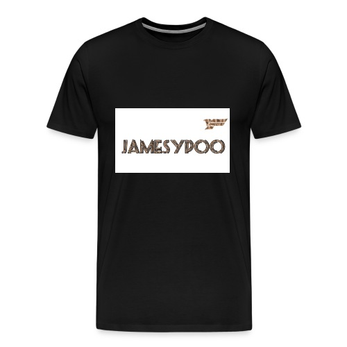 Jamesypoo logo - Men's Premium T-Shirt