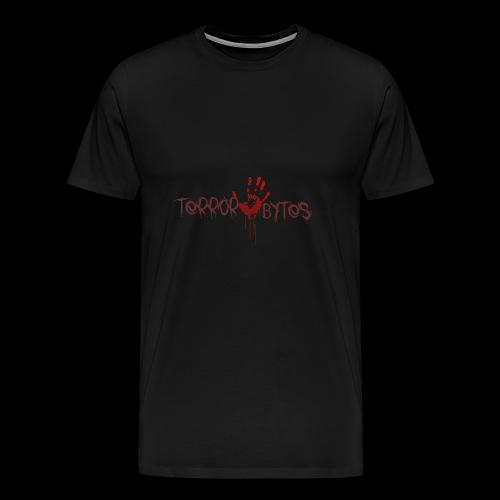 Terror-Bytes Blood Hand - Men's Premium T-Shirt