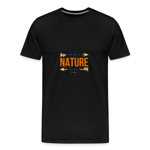 Explore The Wildlife and Nature - Men's Premium T-Shirt