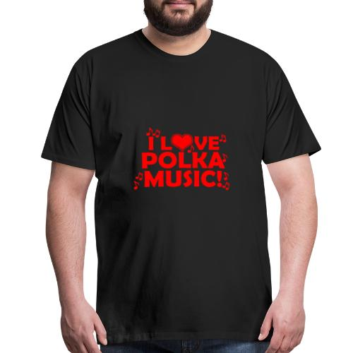 polka music - Men's Premium T-Shirt