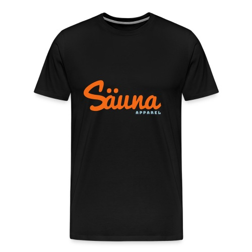 Säuna Apparel logo - Men's Premium T-Shirt