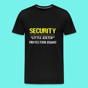 Security Little Sister Protection Squad Big T-Shir - Men's Premium T-Shirt