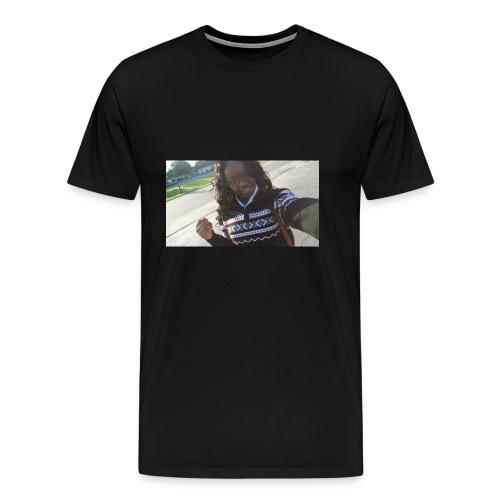 selfie hoodie - Men's Premium T-Shirt