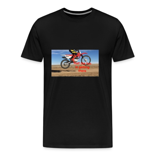 Half the Fun - Men's Premium T-Shirt