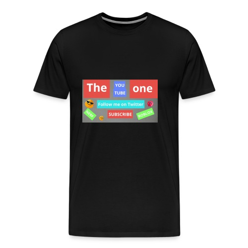 The one subscribe shirt - Men's Premium T-Shirt