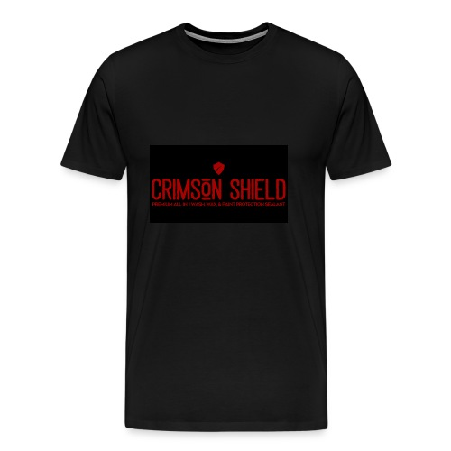 Team Crimson Shield Waterless Car Wash n Wax - Men's Premium T-Shirt