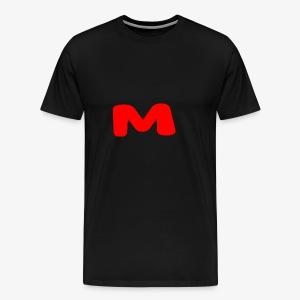 Red on Black - Men's Premium T-Shirt