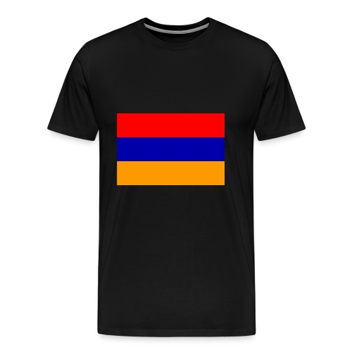 Armenian Flag - Republican of Armenia - Men's Premium T-Shirt