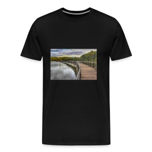 Rainy Day in Rochester - Men's Premium T-Shirt