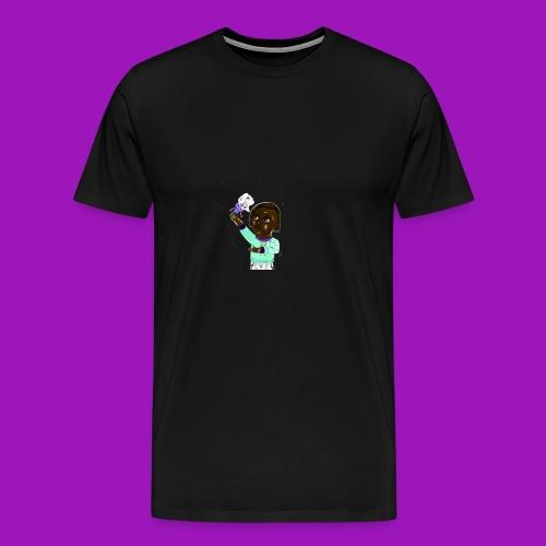 smash that like button - Men's Premium T-Shirt
