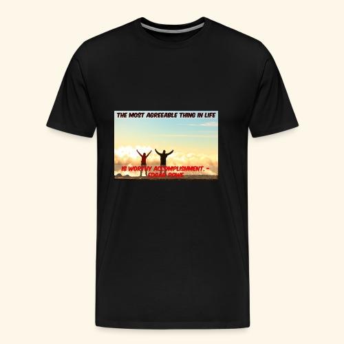 Worthy Accomplishment - Men's Premium T-Shirt