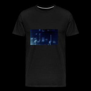 Dark Blue Glow - Men's Premium T-Shirt