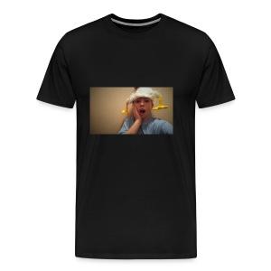 Kale Garrison Chicken Head - Men's Premium T-Shirt