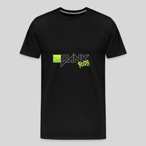 2 Dank Buds Logo - Men's Premium T-Shirt