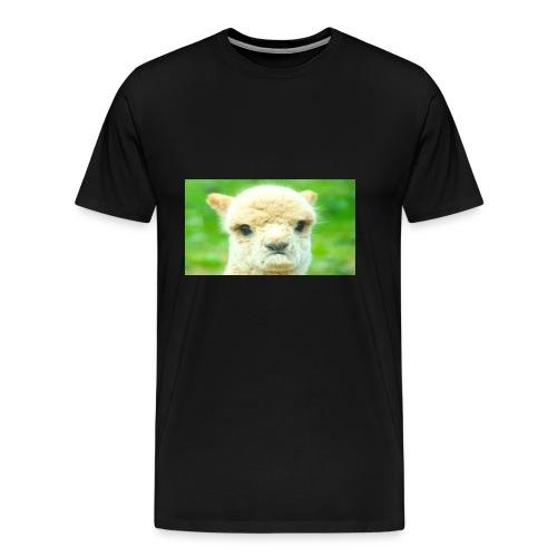 LLAMA GOAT merchandise - Men's Premium T-Shirt