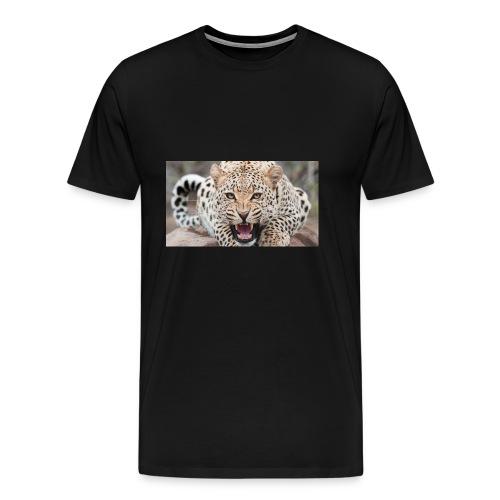 gandex ru 26 6055 evil leopard - Men's Premium T-Shirt