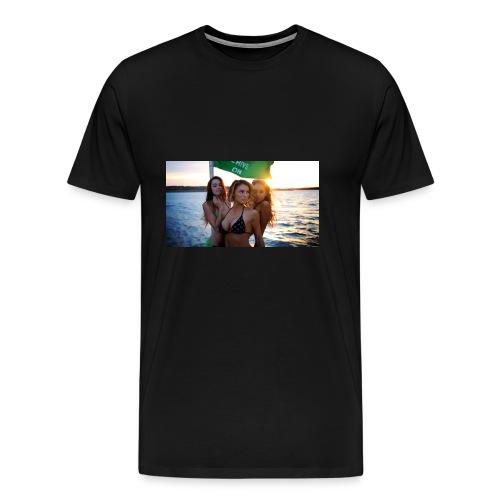 Yacht-hop - Men's Premium T-Shirt