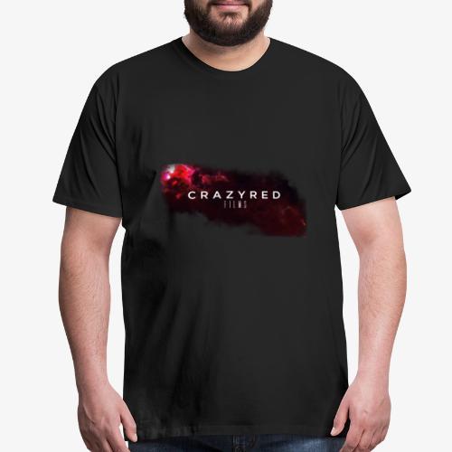 2018 Cinematic Galaxy Title Reveal On Black - Men's Premium T-Shirt
