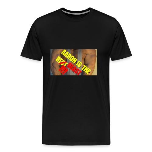AARON IS THE BEAST - Men's Premium T-Shirt