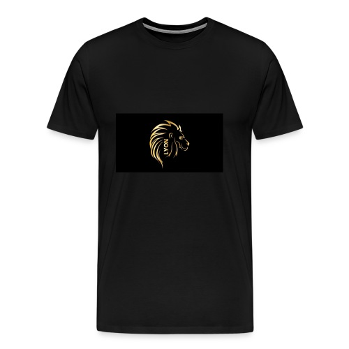 Gold and black bandana - Men's Premium T-Shirt