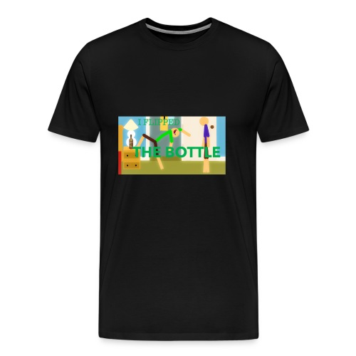 I FLIPPED THE BOTTLE PRIMARY Merch Playerparkour - Men's Premium T-Shirt