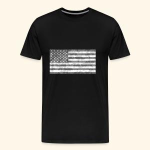 Digi-Camo American Flag - Men's Premium T-Shirt