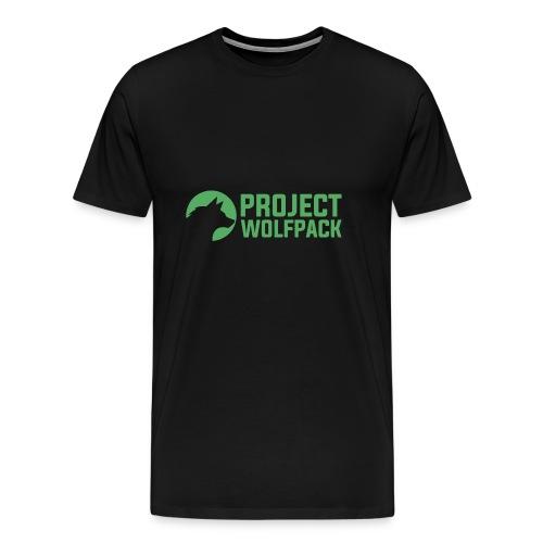 Project Wolfpack Logo - Men's Premium T-Shirt
