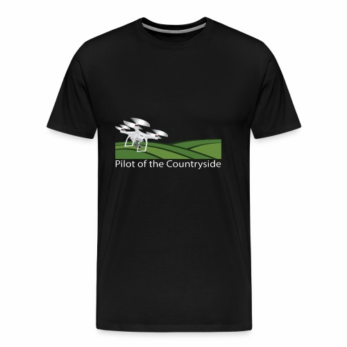 Pilot of the Countryside - Men's Premium T-Shirt
