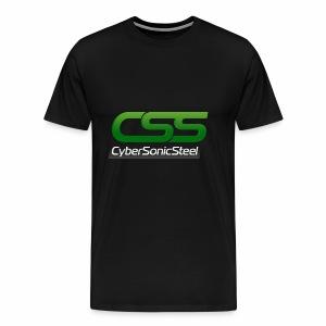 CyberSonicSteel Logo - Men's Premium T-Shirt