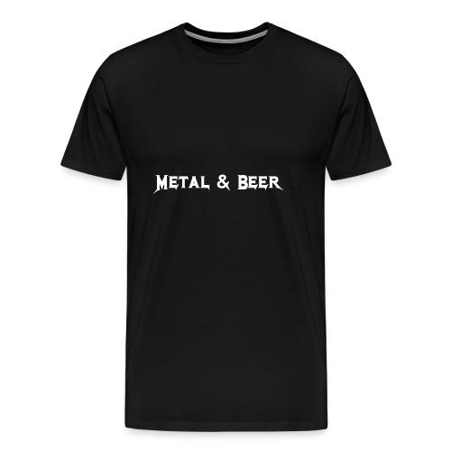 metalbeer_ok - Men's Premium T-Shirt