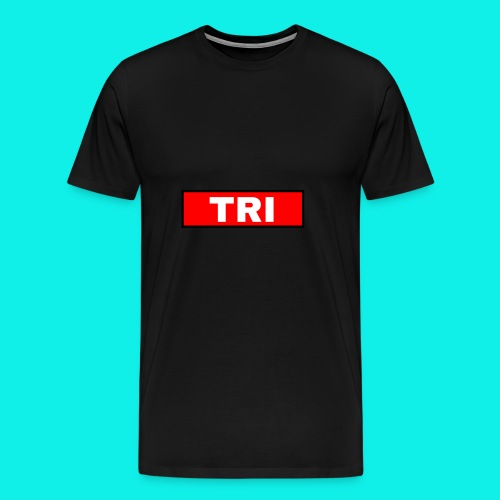 Tri classic red - Men's Premium T-Shirt