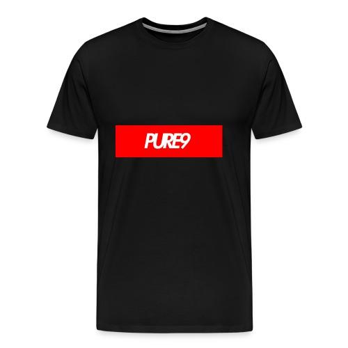 Pure9 Supreme Box Logo - Men's Premium T-Shirt