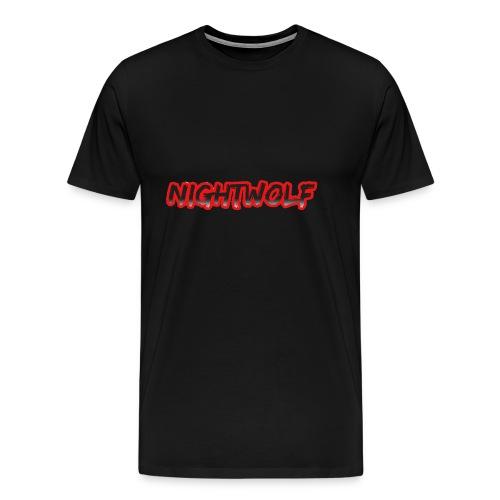 T-Shirt with Nightwolf Logo - Men's Premium T-Shirt