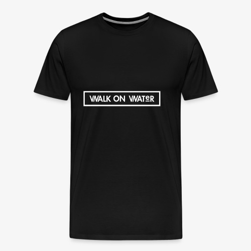 Walk on Water (Small Logo) - Men's Premium T-Shirt