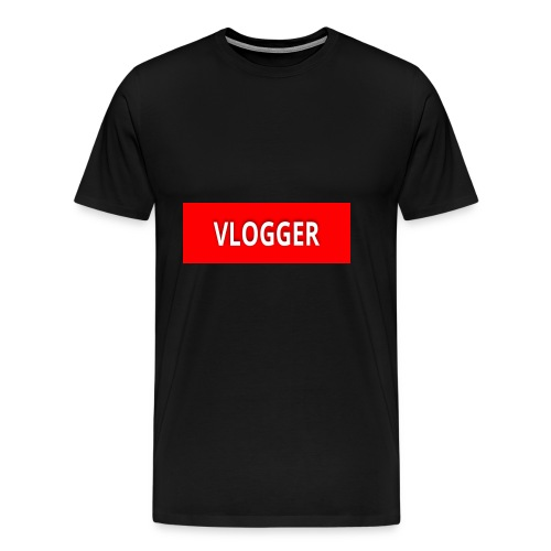 VLOGGER - Men's Premium T-Shirt