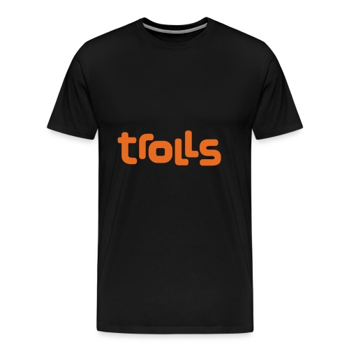 Trolls Logo - Men's Premium T-Shirt