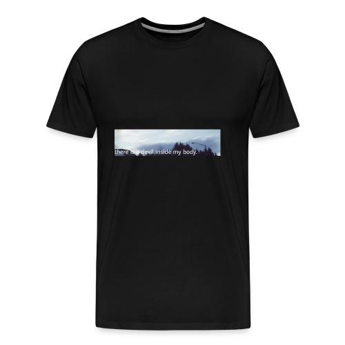 Sky Print - Men's Premium T-Shirt