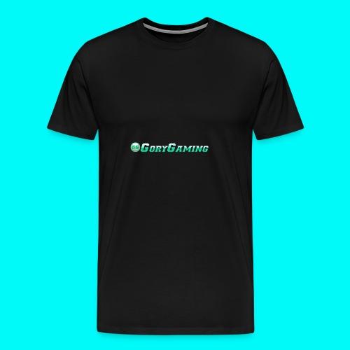 GoryGaming Design With Logo - Men's Premium T-Shirt