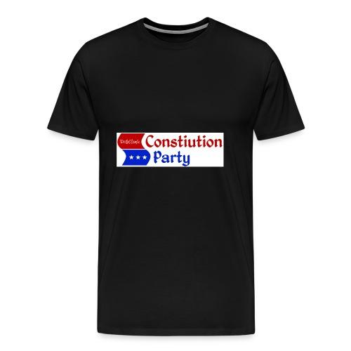 Constitution party logo - Men's Premium T-Shirt