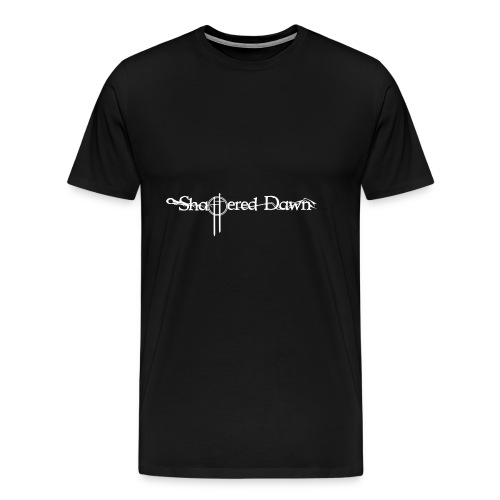 Shattered Dawn Logo White - Men's Premium T-Shirt