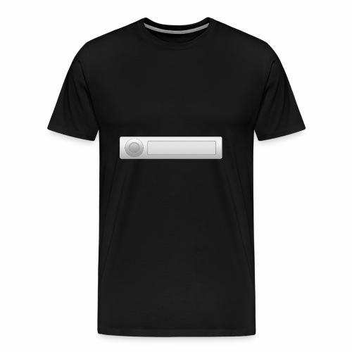 car radio style - Men's Premium T-Shirt