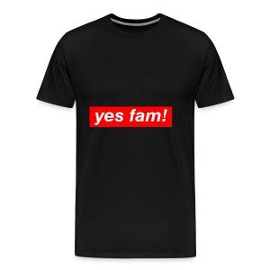 yesfam SHOP 01 - Men's Premium T-Shirt