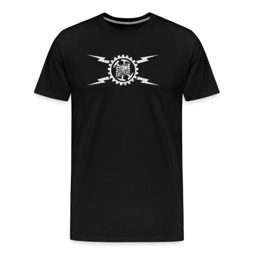 Stone Cutters distressed logo - Men's Premium T-Shirt