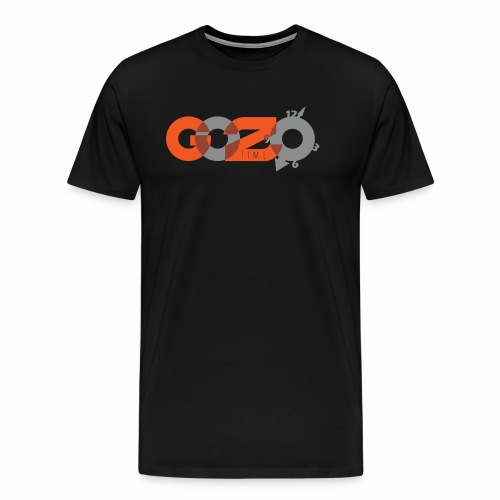 NEW GOZOTIME LOGO 2018 B - Men's Premium T-Shirt
